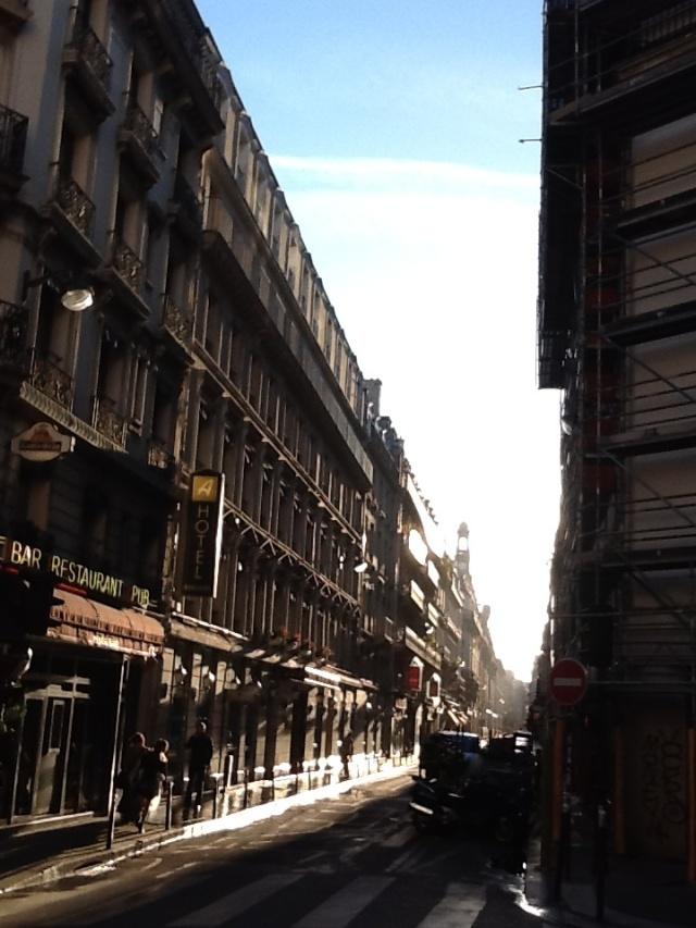 Greetings from beautiful Paris...