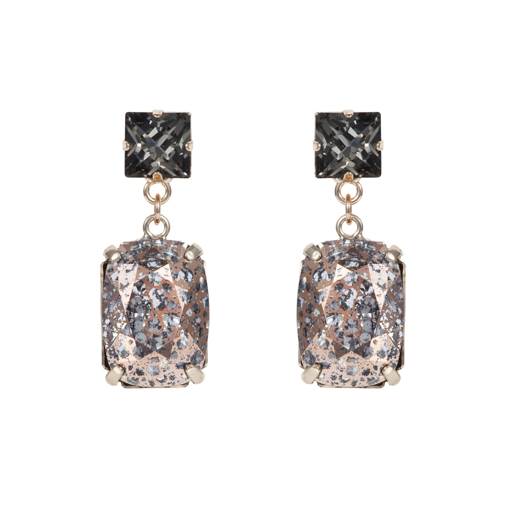 rectangular-drop-stone-earrings-rose-gold-patina