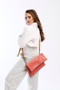 The Rena bag coral 4